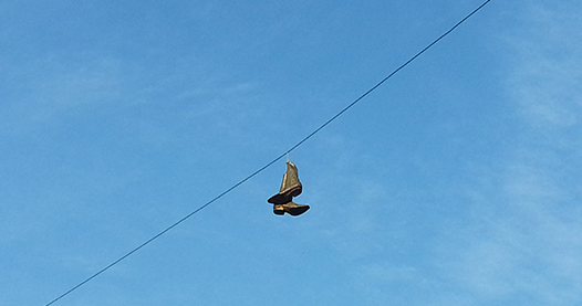 Boots On A Wire